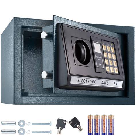 elektronischer tresor bedienungsanleitung elektronischer safe tresor mit schl 252 ssel und led anzeige inkl batterien g 252 nstig kaufen