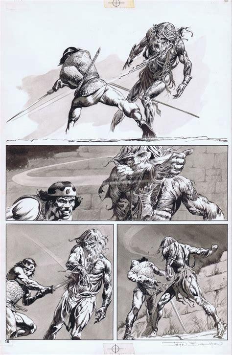 John Bolton Comic Book Art