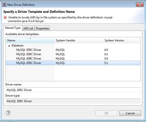 java hibernate console configuration  find jdbc