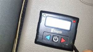 Reset Perimeters On Espar D1000 Bunk Heater