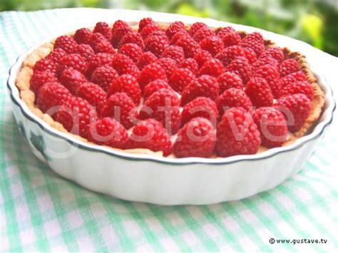 recette pate de fruit framboise tarte aux framboises la recette gustave