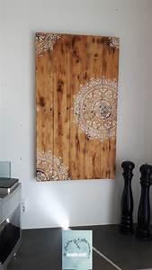Kalkanstrich Auf Holz : diy mandala wandbild auf holz mit kreidefarbe vintage shappy look kreativstattandrea diy ~ Markanthonyermac.com Haus und Dekorationen