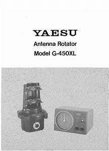 Rotator Manual 9521a