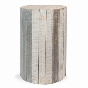 Bout De Canapé En Bois : bout de canap en bois l 28 cm arctique maisons du monde ~ Teatrodelosmanantiales.com Idées de Décoration