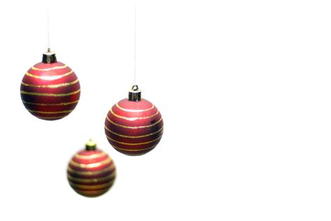 photo of ornaments trio free christmas images