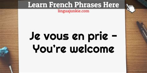 How to say Thank You in French & You're Welcome: 20 Phrases!