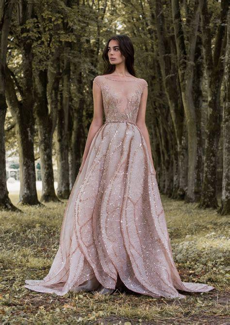rose gold dragonfly gossamer wing inspired wedding dress