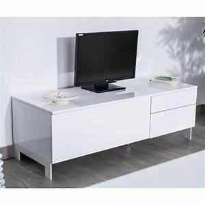 Meuble Tv 90 Cm : meuble tv 90 cm gris ~ Teatrodelosmanantiales.com Idées de Décoration