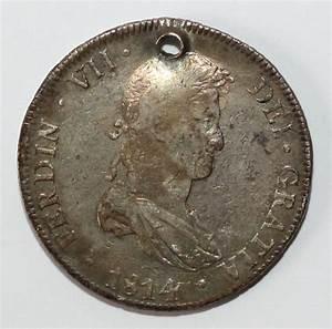 Antigua Moneda Colonial 1814 8r Potosi - S/. 200,00 en ...