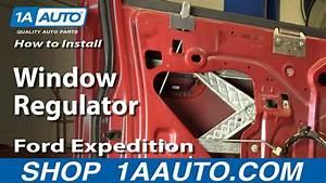 How To Install Replace Window Regulator 97