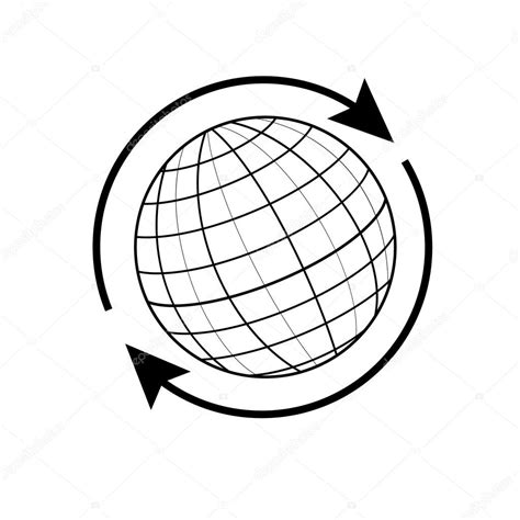 foto de Globe terrestre Image vectorielle viktorijareut © #74350457