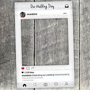 Instagram New Look Frame Cut Out With Instagram Prop ...