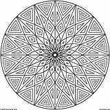 Coloring Pages Pattern Flower Popular sketch template