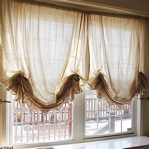 Curtain Shades crochet curtain