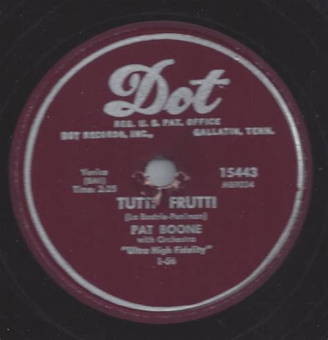 tutti frutti pat boone reproduction steel phonograph needles bamboo needles records radios victrola needles