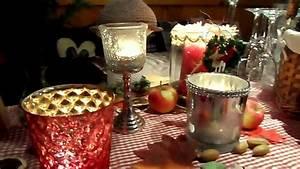 Herbst Dekoration Tisch : diy tolle h ttenzauber herbst tisch deko geschenk bastel ideen youtube ~ Frokenaadalensverden.com Haus und Dekorationen