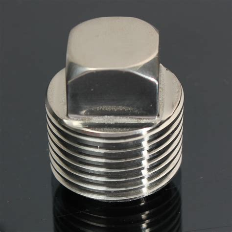 Installing New Boat Drain Plug by New Stainless Steel Oil Garboard Drain Screw Plug Fits