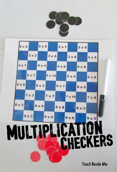 for checkers math checkers teach beside me