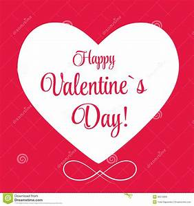 Vector St Valentine Day's Greeting Card Stock Vector ...