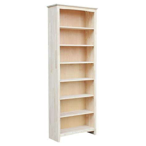 unfinished furniture bookcase american hwy