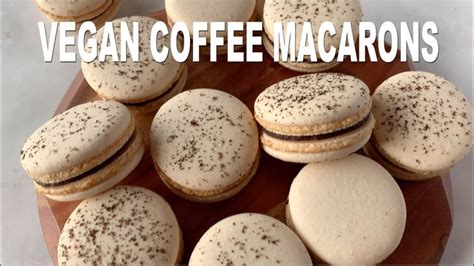 March 19, 2015 morsels and moonshine. Vegan Coffee Macarons - YouTube | Macaron flavors, Vegan macarons, Macarons