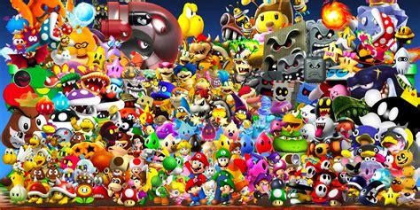 11 Origins Of 11 Super Mario Characters Names