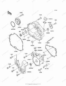 Kawasaki Atv 1999 Oem Parts Diagram For Engine Cover S