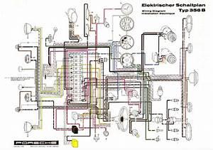 Elektrischer Schaltplan Typ 356b  Showroom Poster