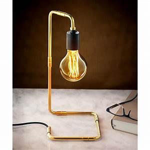 Lampe Industrial Style : lampe de table au design industriel pas cher pro idee ~ Markanthonyermac.com Haus und Dekorationen