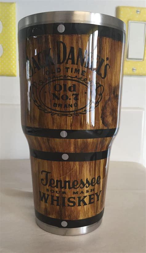 jack daniels wood grain tumbler tumbler cups diy custom