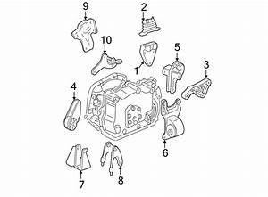 Chevrolet Malibu Engine Mount Bracket  3 1 Liter  3 4