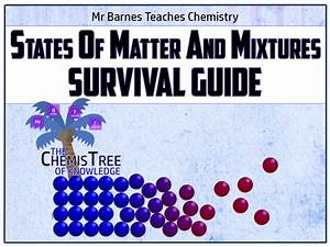 States Of Matter And Mixtures Survival Guide