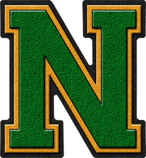 image 26 letters in the alphabet png the amazing presentation alphabets green gold varsity letter n 86435