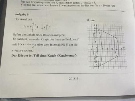 rotationskoerper zeichnen mathelounge