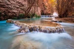 Waterfalls, Usa, Canyon, Grand, Canyon, Havasupai, Arizona