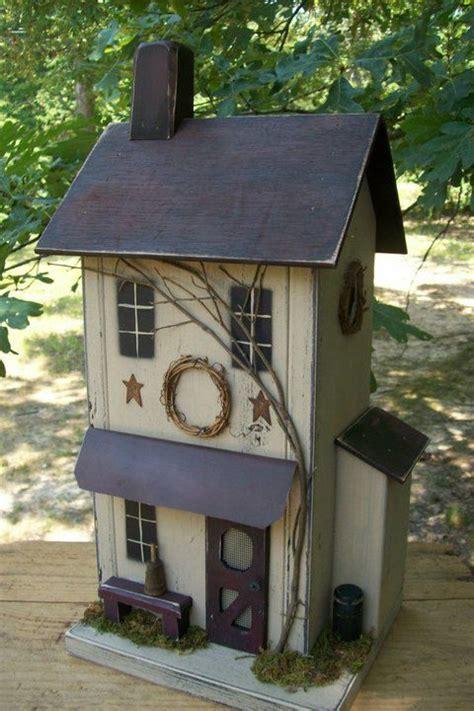 Farmhouse Birdhouse Primitive Rustic