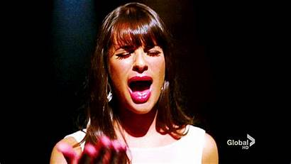 Singing Lea Michele Glee Giphy Gifs Television