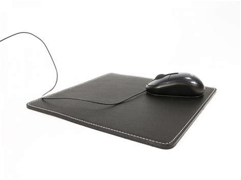 souris de bureau tapis souris en cuir sous cuir