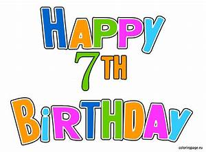 7th Birthday Clipart - Clipart Suggest