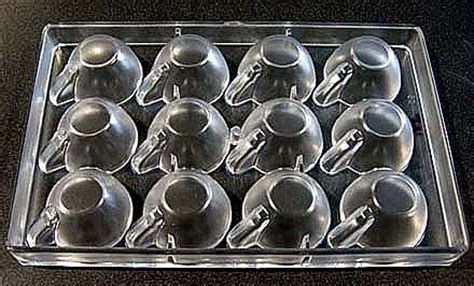 5 out of 5 stars (1,173) $ 15.00. Polycarbonate Chocolate Mold Cup 64mm x 33mm High, 12 Cavities Polycarbonate Chocolate Molds ...