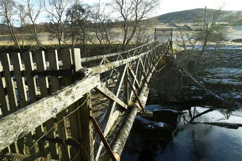 bridge angus waters troubled repaired finally