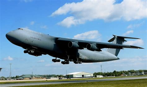 high back wing era of c 5 galaxy cargo planes ends in martinsburg