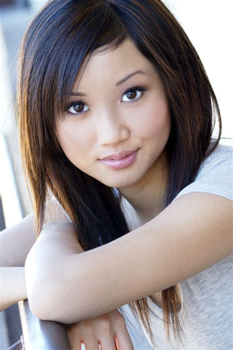 actress in long song women model brunette long hair brenda song