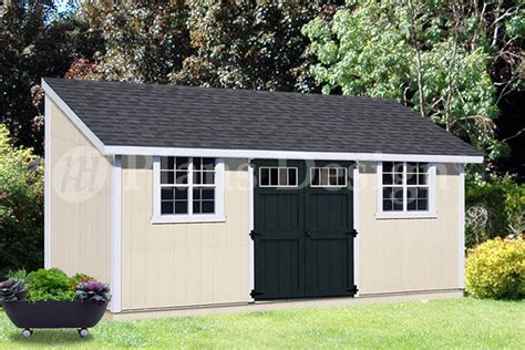 10 x 20 outdoor structure building storage shed plans lean to d1020l ebay