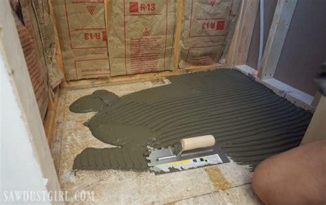 Shower Pans Installation Tile Ready Shower Pan Installation Sawdust 174
