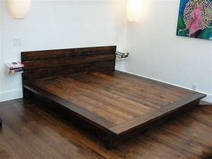diy full size platform bed with storage plans Discover