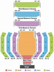Clowes Memorial Hall Seating Chart Map Indianapolis