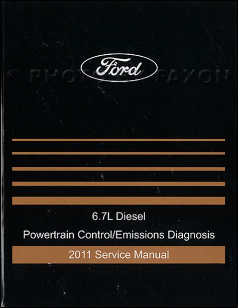 ford  powerstroke diesel engine owners manual