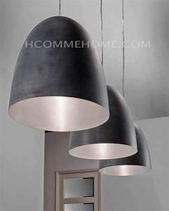 Luminaire Cuisine : luminaire suspension design noir claudio 3 lampes ~ Melissatoandfro.com Idées de Décoration
