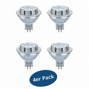 Osram Led Dimmbar : 4er pack osram led superstar mr16 gu5 3 7 8 w 50 watt 621 lm warmwei dimmbar ebay ~ Buech-reservation.com Haus und Dekorationen